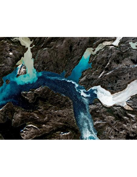 Glaciers du Groenland