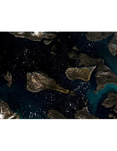 Ciel étoilé au Groenland