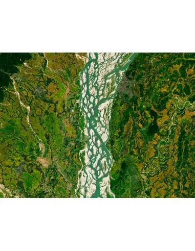 Le fleuve Brahmaputra